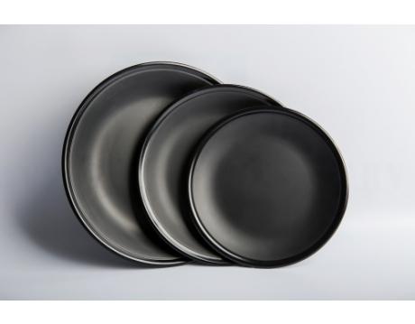 ROUND PLATE DA 07N, DA 08N, DA 09N BLACK MATTE